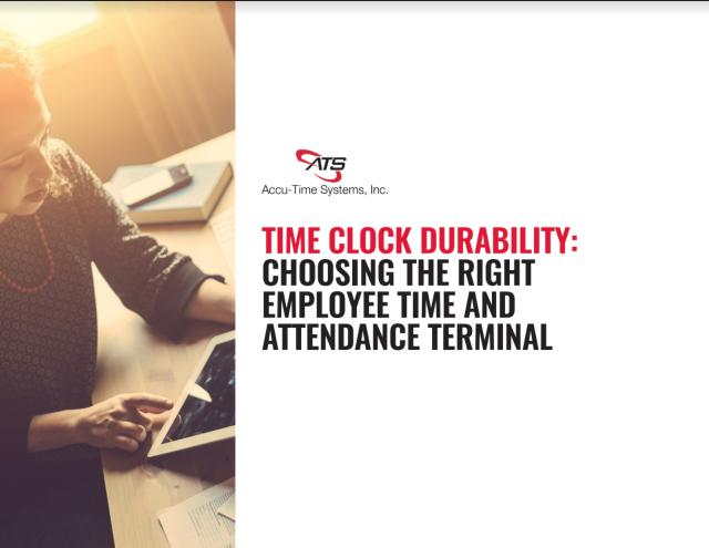 timeclock durability